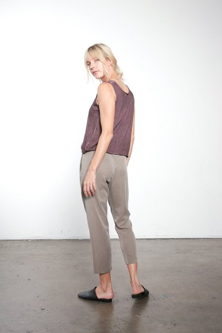 It Is Well L.A. Tencel Pleated Crop Pant