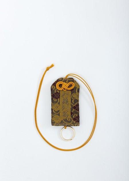 Doublet Omamori Necklace - Yellow