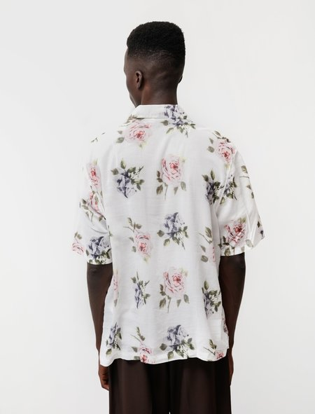 Our Legacy Box Shirt Short Sleeve - Rose Print