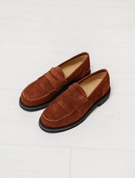 Our Legacy Loafer Suede - Brown
