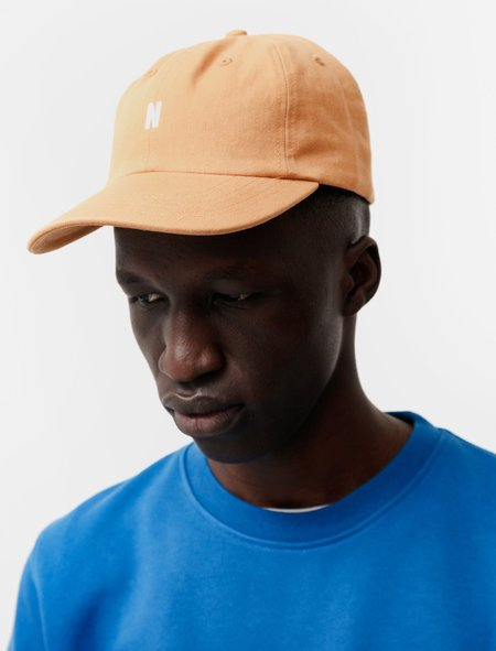 Norse Projects Twill Sports Cap - Orange