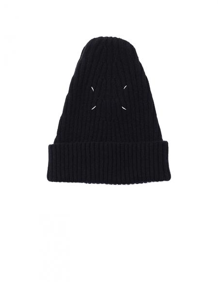 Maison Margiela Wool Beanie - Black