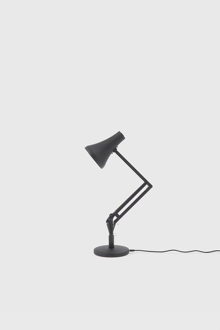 Anglepoise 90 Mini Mini Desk Lamp - Carbon Black/Black