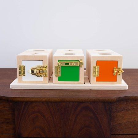 Kids Shop Merci Milo Peek-A-Boo Lock Box Sensory Toy