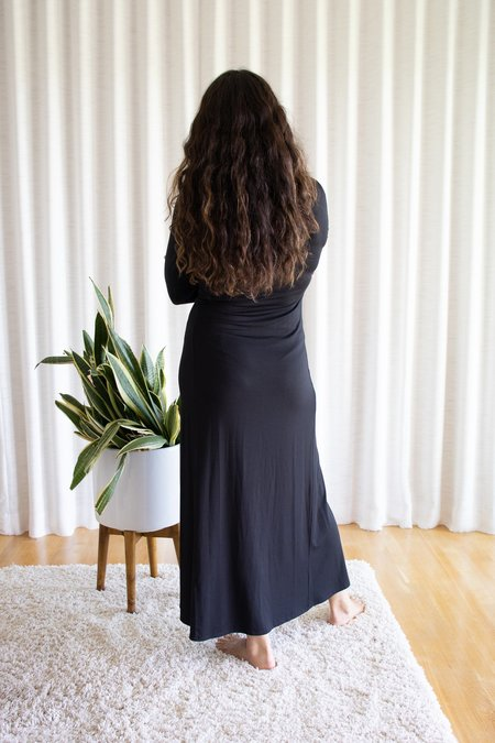Rachel Pally Jersey Mid-Length Stormy Dress - Black