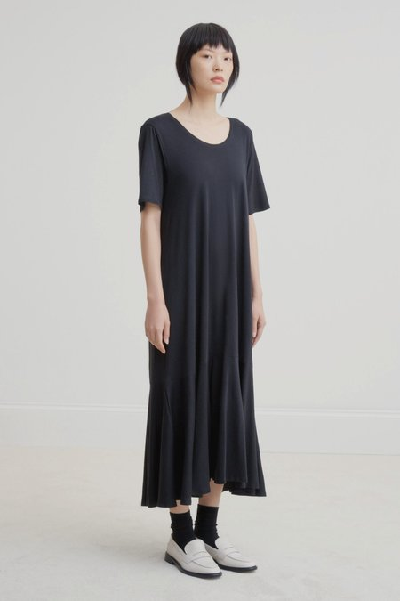 Kowtow Flare Hem Dress - Black