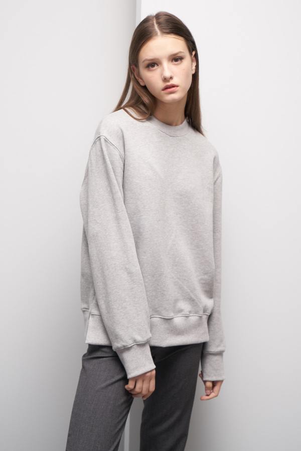 LOOKAST Basic Sweatshirt- Gray