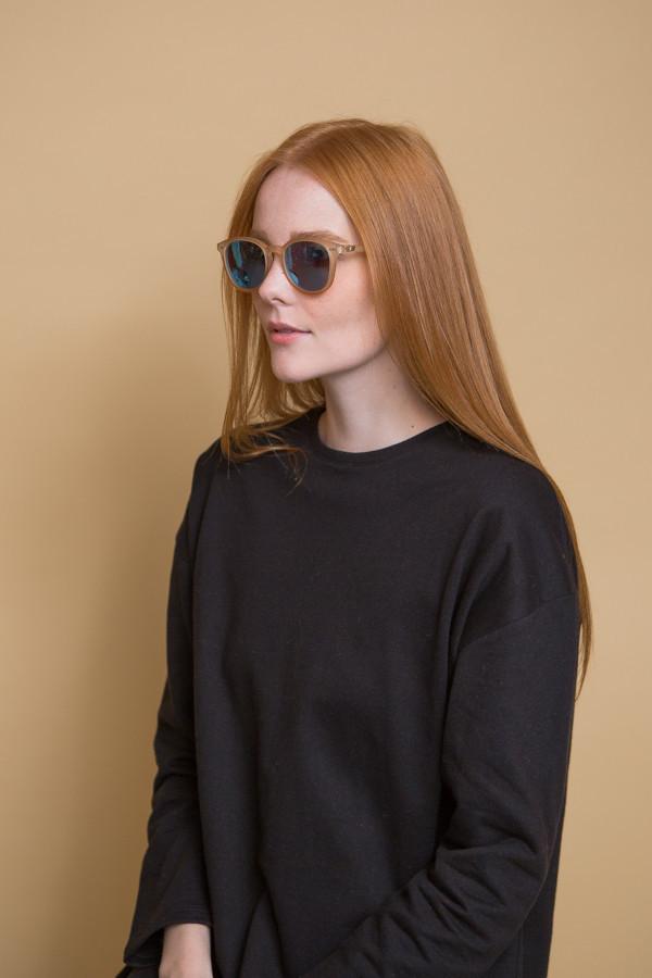 Le Specs Bandwagon Sunglasses / Raw Sugar