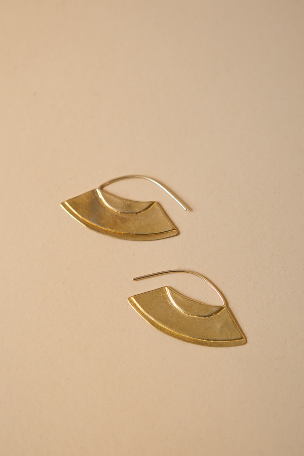 Seaworthy Gyza Earrings / Brass