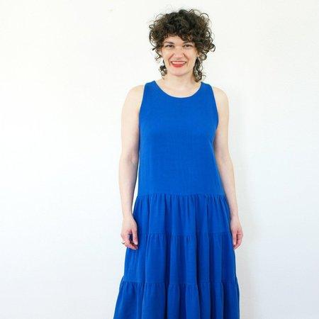 Jennifer Glasgow Chagall Dress - Blue