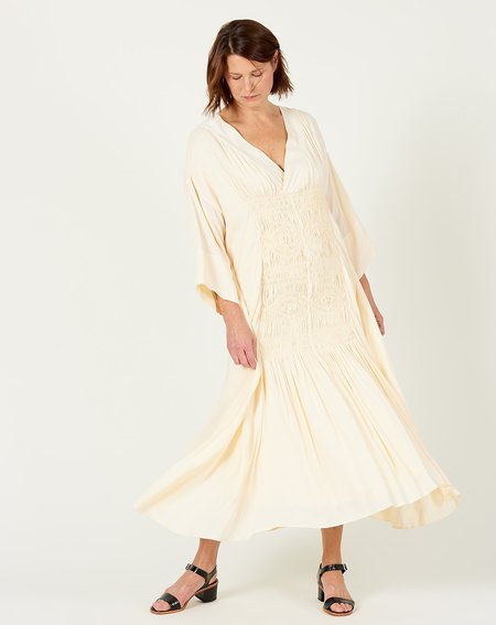 Mara Hoffman Benecia Dress  -Cream