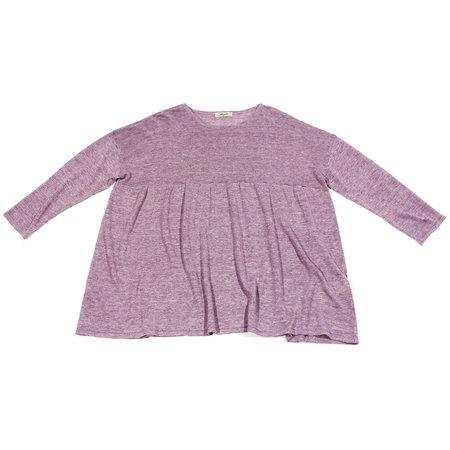 Ichi Antiquités Linen Pullover - Purple