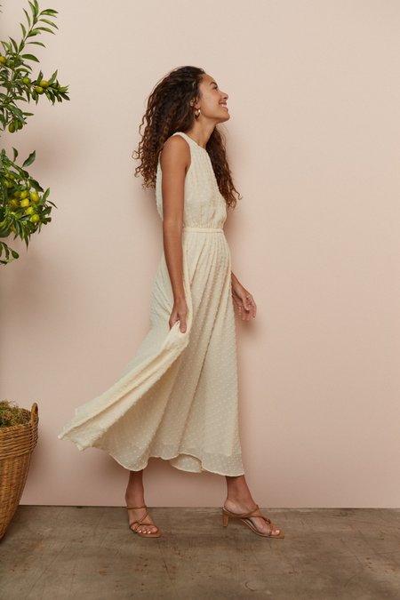 Rachel PallySwiss Dot Mirabelle Dress - Butter