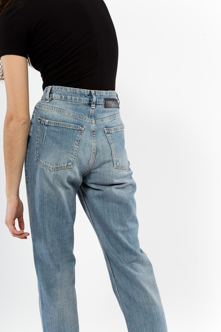 Won Hundred Pearl Trash Jeans