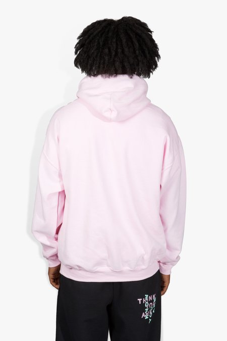 The Celect Geo Faded Hoodie - Pink
