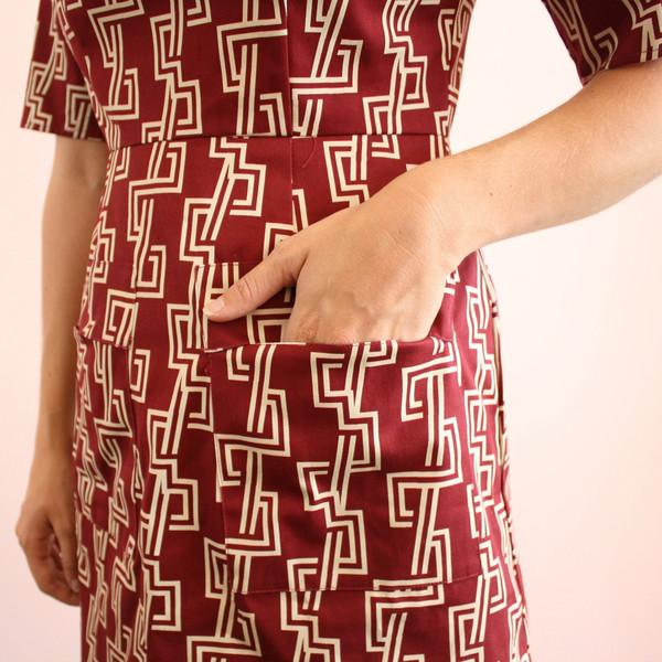 Dusen Dusen patch pocket dress
