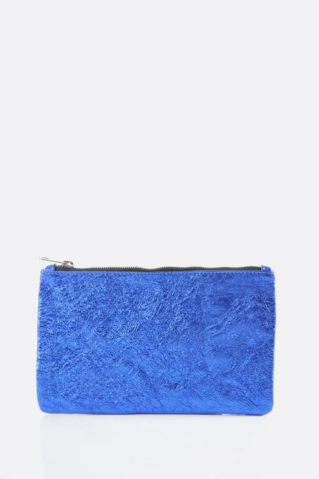 Zilla Electric Metallic Big Pouch - Blue