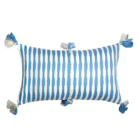 Archive New York Antigua Pillow - Sky Blue Striped