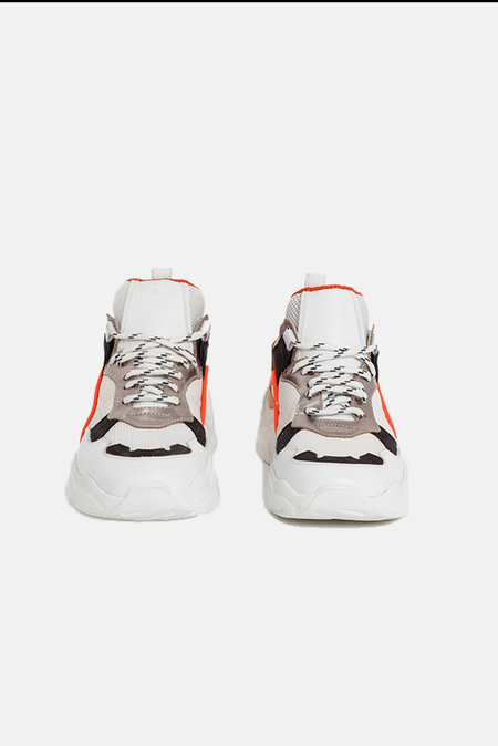 IRO Curverunner Shoes - Ecru/Orange