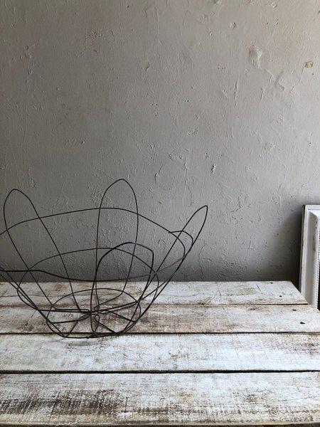 Vintage Large Cauliflower Basket