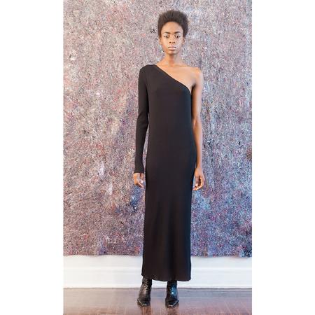Pari Desai Asymmetric Dress - Black