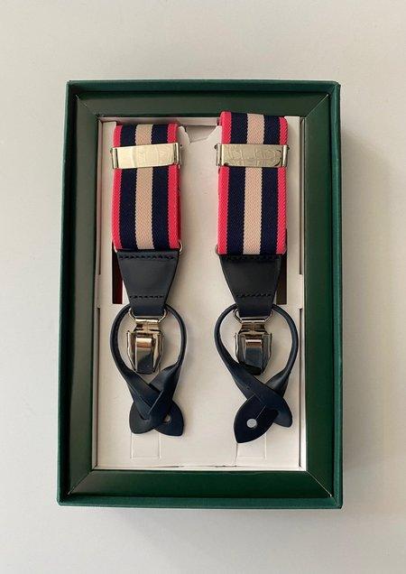 Leyva Striped Suspenders