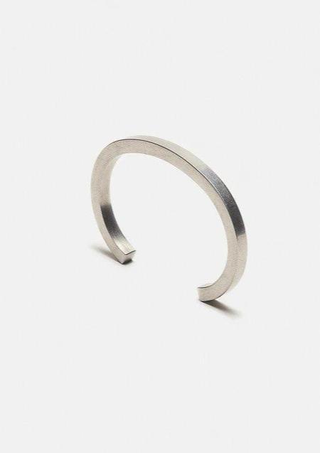 Craighill Uniform Square Cuff - Silver