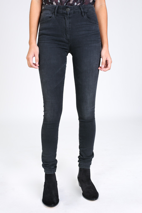 3x1 Channel seam high rise skinny in wash no. 5