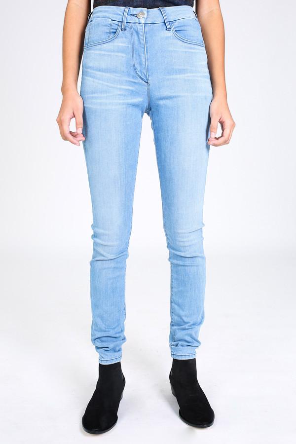 3x1 High rise channel seam skinny jean in Leros