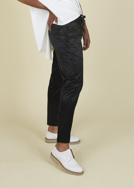 C O G Jodhpur Shiny Leggings - Black