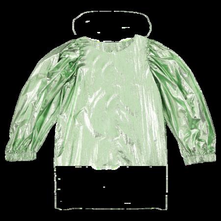 Kids Caroline Bosmans Metallic Top - Green
