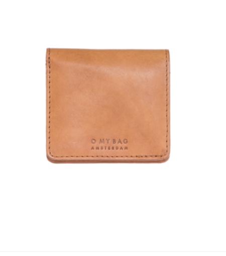 O My Bag Alex fold-over Wallet - Cognac