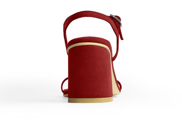 Rafa The Simple Sandal –Ruby