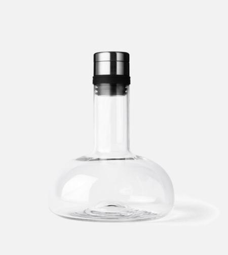 Menu Wine Breather Carafe - Clear/Silver