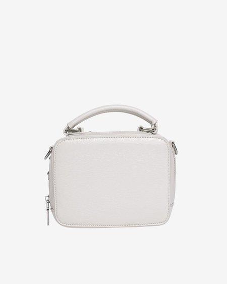 HVISK BLAZE GLOSSY bag - WHITE