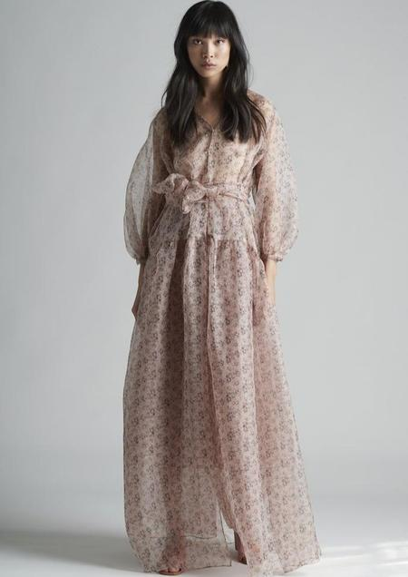 Christine Alcalay Drop Waist Dress