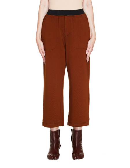 Haider Ackermann Cotton Sweatpants - Brown