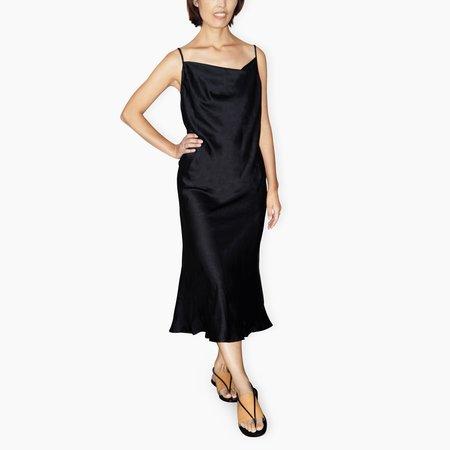 Poketo Slip Dress - Black