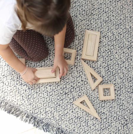 Kids Plan Toys Hollow Blocks