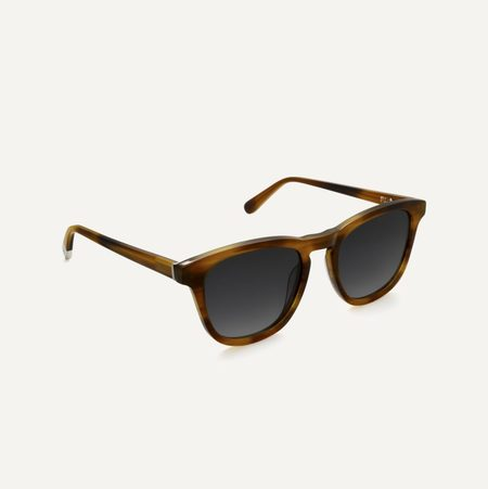 Unisex Pala Eyewear Biodegradable Nyota Sunglasses - Walnut Brown