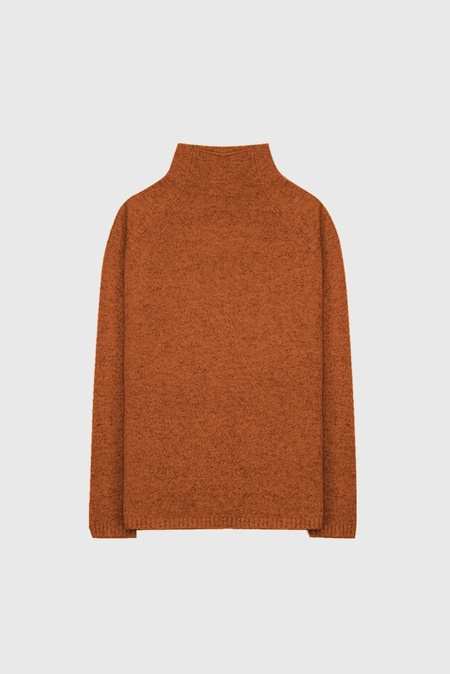 COMMONERS Funnel Knit Jumper - Tibet Tan