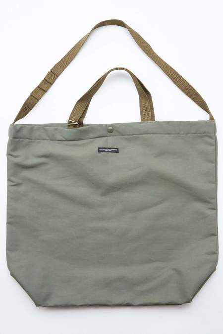 Engineered Garments Cotton Double Cloth Carry All Tote - Olive