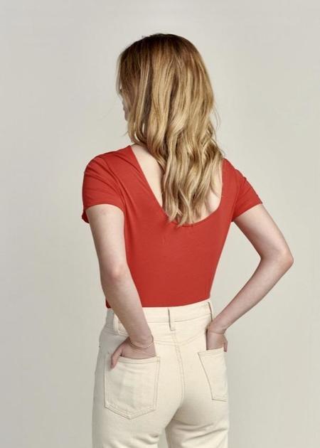 Bellerose Cox T-Shirt - Red