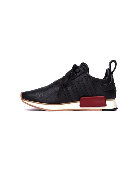 Hender Scheme Adidas NMD R1 Leather Sneakers - Black