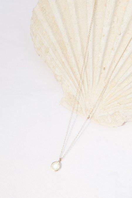 Takara Sea Pendant Necklace - 14k gold