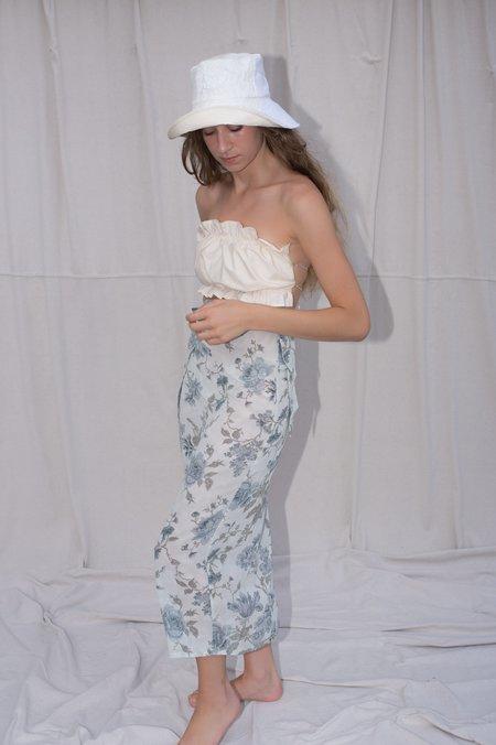 August Market Sarong Skirt - Floral