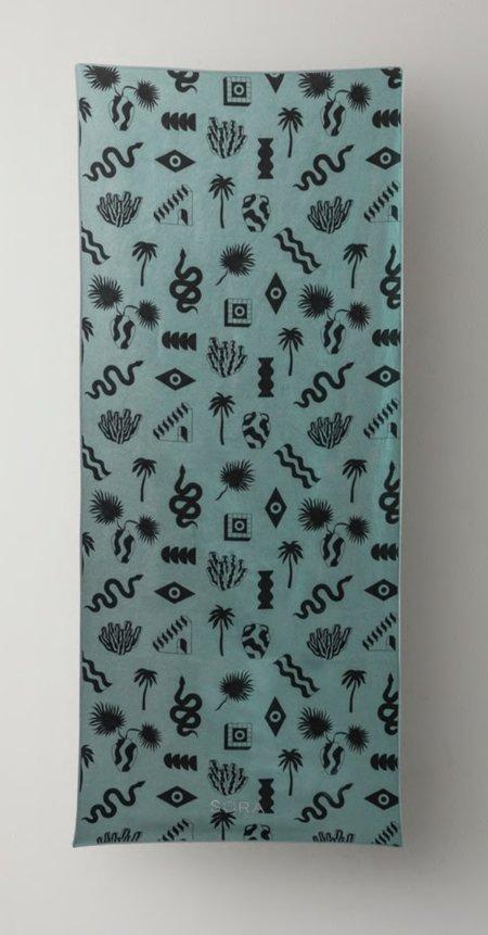 Sora Amble Towel - Eucalyptus