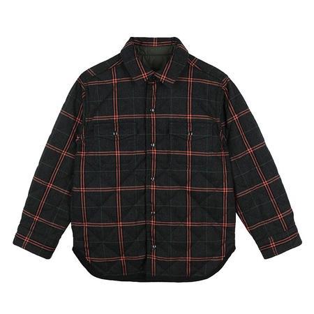 Kids Stella McCartney Child Reversible Shirt Jacket - Green