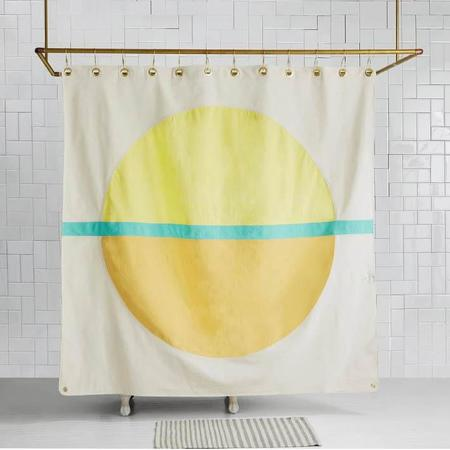 Quiet Town Home Arco Shower Curtain - Hike