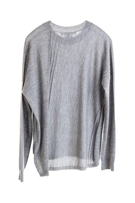Paychi Guh High Crew Sweater - Black